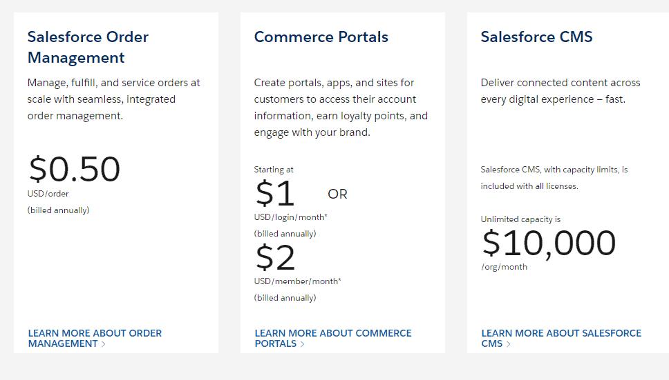 Commerce Cloud addons